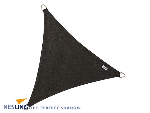 Nesling   Coolfit Schaduwdoek Driehoek   500 Zwart