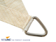 Nesling | Coolfit Schaduwdoek Driehoek 90° | 400 Zand