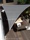 Nesling | Coolfit Schaduwdoek Vierkant | 360 Antraciet