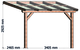 Trendhout | Terrasoverkapping La Véranda 400x300