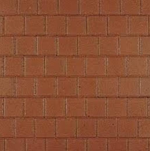 Kijlstra | Halve betonstraatsteen 10.5x10.5x8 | Rood