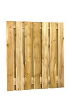 Fijnbezaagdscherm grenen | 15-planks | 180 x 200 cm