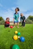 Plum | Garden Boules set