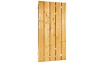 Plankendeur grenen | verstelbaar frame | 100 x 180