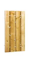 Plankendeur grenen op stalen frame | 100x200