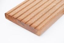 Hardhout vlonderplank Bangkirai | 25 x 145 mm | Ribbel   Glad 244cm