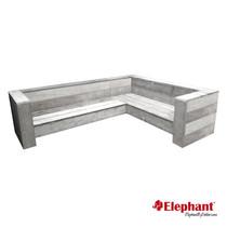 Elephant |Lounge hoekbank