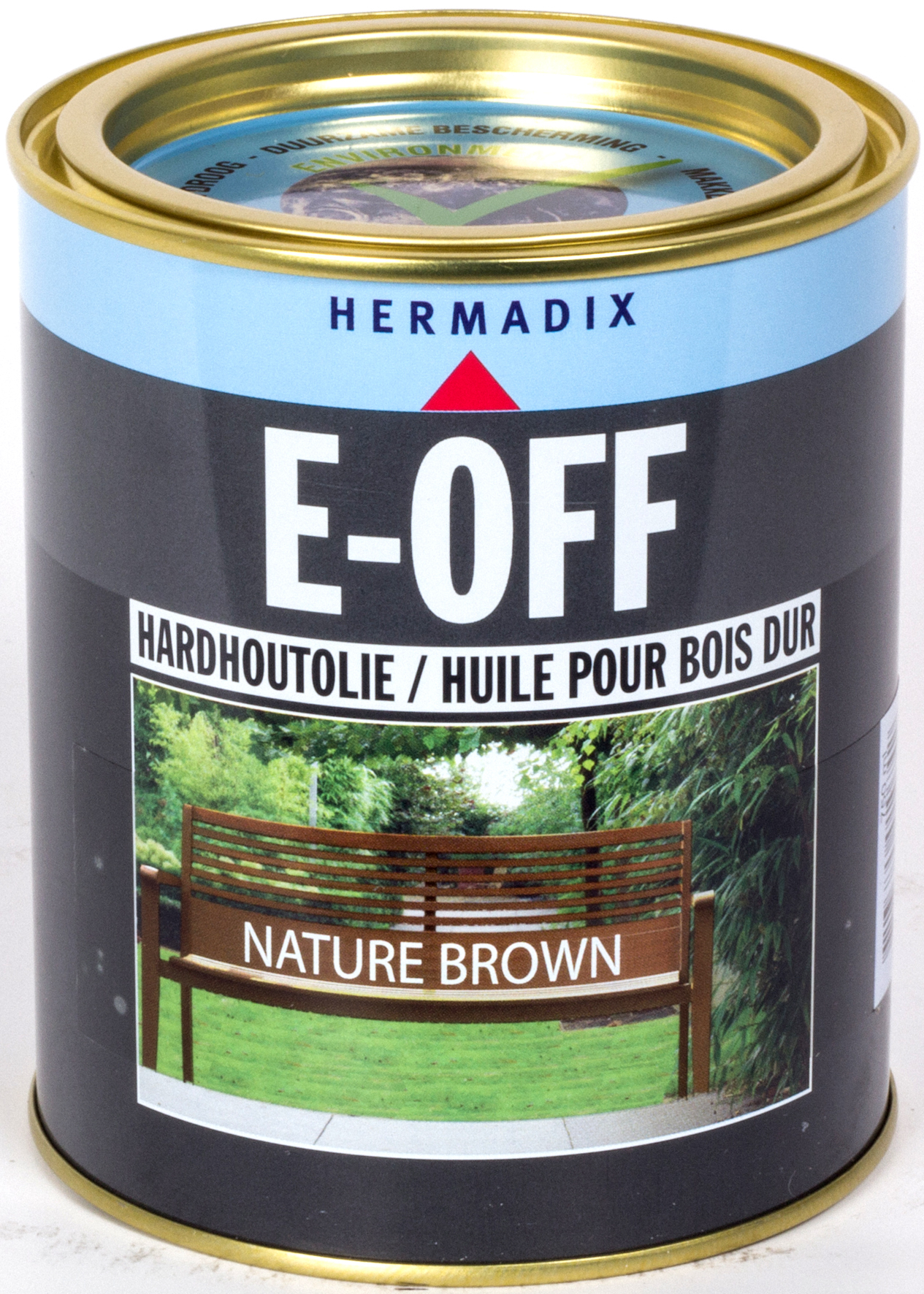 Hermadix E OFF Hardhoutolie Nature Brown 750 ml