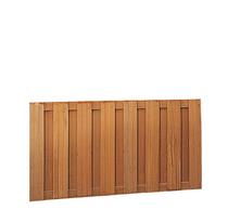 Hardhouten plankenscherm | 90cm | 15-planks