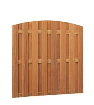 Hardhouten toogscherm | 180x180cm | 15-planks | Verticaal