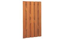 Hardhouten plankendeur recht | Verticaal 100x180cm