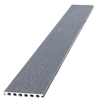 Woodvision | Composiet vlonderplank met co-extrusie | Grey | 23x145mm | 420cm