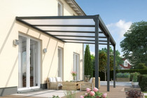 Gardendreams | Easy Edition met polycarbonaat dakbedekking | 250 x 500 cm | Wit