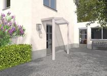 Gardendreams | Voordeur luifel met glazen dakbedekking | 150 cm