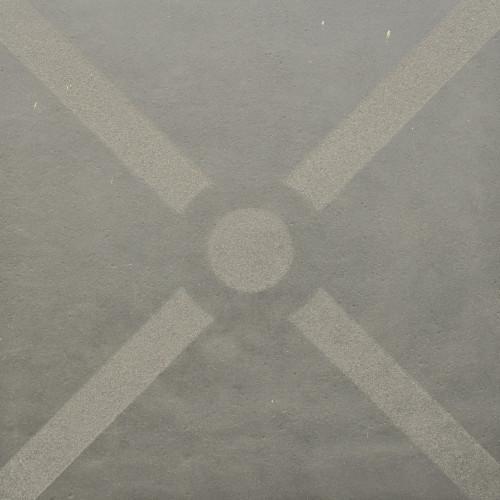 Excluton | Optimum Decora 60x60x4 cm bow | Graphite