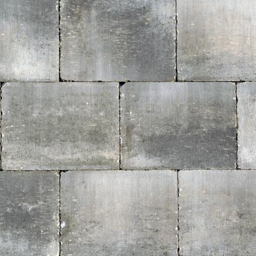 Excluton | Abbeystones 20x30x5 | Grijs/zwart