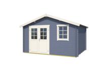Westwood | Blokhut Anna 300 | Pigeon Blue | 400x320 cm