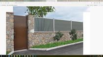 Exterior living | Tuinpoort Curtis 100x120 | zwart