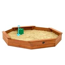 Plum   Giant houten zandbak