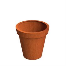 Adezz | Cortenstalen plantenbak Celso | Ø100 x 100 cm