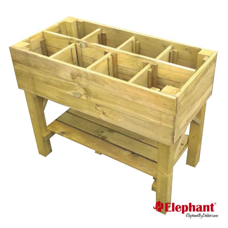 Elephant | Trendline kweektafel | 100x100x80 cm