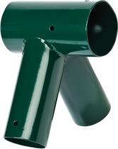 KBT | Smart-Line Hoekverbinding 'recht' rond | 100 mm