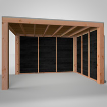 CarpGarant | Douglas overkapping Excellent | 300 x 400 cm