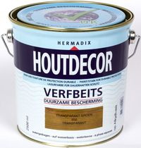 Hermadix | Houtdecor 656 Transparant Groen | 2,5 L