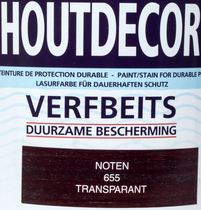 Hermadix | Houtdecor 655 Noten | 2,5 L