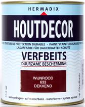 Hermadix | Houtdecor 633 Wijnrood | 750 ml