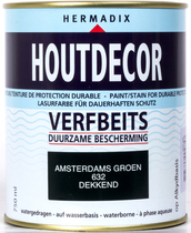 Hermadix | Houtdecor 632 Amsterdams Groen | 750 ml