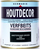 Hermadix | Houtdecor 632 Amsterdams Groen | 750 ml