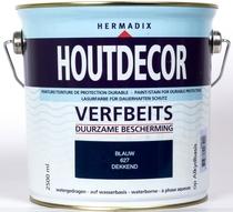 Hermadix | Houtdecor 627 Blauw | 2,5 L