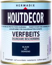 Hermadix | Houtdecor 627 Blauw | 750 ml