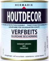 Hermadix | Houtdecor 623 Donker Groen | 750 ml