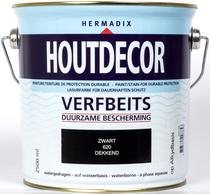 Hermadix | Houtdecor 620 Zwart | 2,5 L