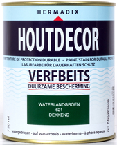 Hermadix | Houtdecor 621 Waterland Groen | 750 ml