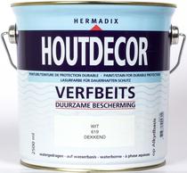 Hermadix | Houtdecor 619 Wit | 2,5 L