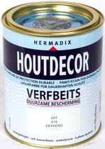 Hermadix | Houtdecor 619 Wit | 750 ml