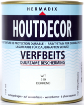 Hermadix | Houtdecor 619 Wit | 750 ml