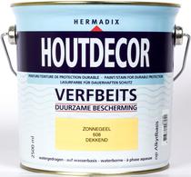Hermadix | Houtdecor 608 Zonnegeel | 2,5 L