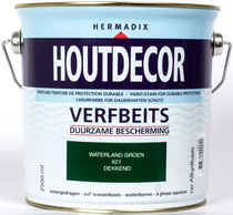 Hermadix | Houtdecor 621 Waterland Groen | 2,5 L