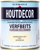 Hermadix | Houtdecor 601 Gebroken Wit | 750 ml
