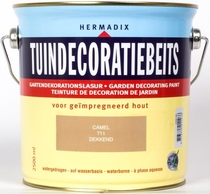 Hermadix | Tuindecoratiebeits 711 Camel | 2,5 L