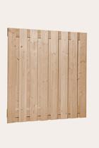 Douglas plankenscherm 18x160pl | sc. | 180 cm | Geimpregneerd groen