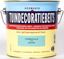Hermadix | Tuindecoratiebeits 713 Caribbean Blue | 2,5 L