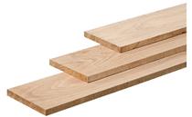 Schuttingplank | Eiken | 27 x 200 mm | 200 cm