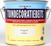 Hermadix | Tuindecoratiebeits 717 Taupe White | 2,5 L