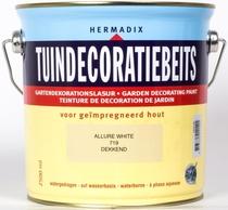 Hermadix | Tuindecoratiebeits 719 Allure White | 2,5 L