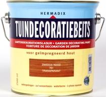 Hermadix | Tuindecoratiebeits 761 Zweeds Rood | 2,5 L
